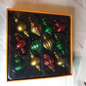 Home Accents Ornament Collection 12 Pieces NWT